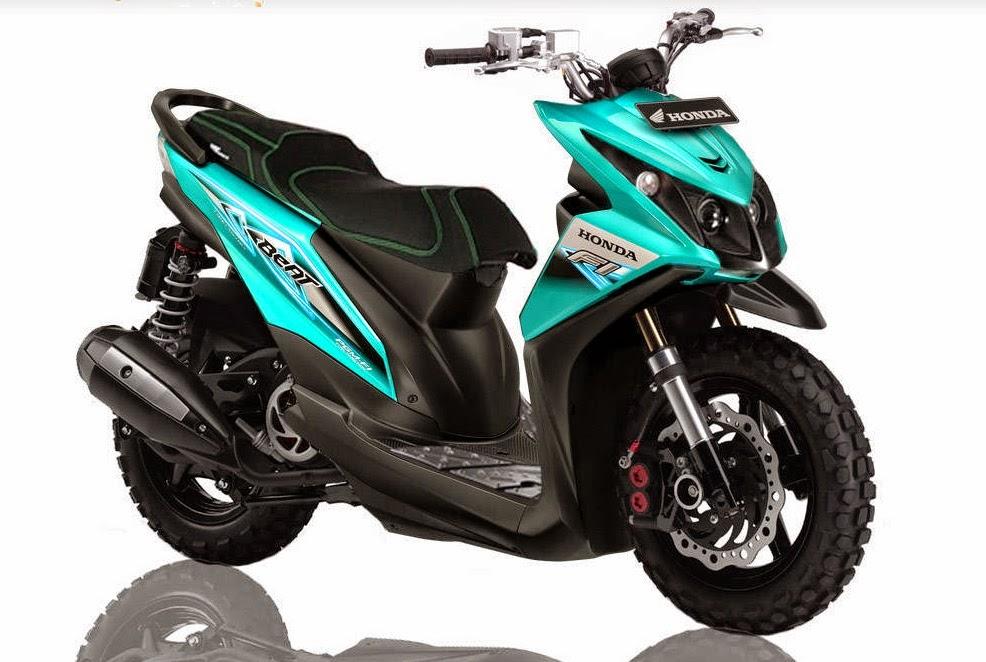 Gambar Modifikasi Motor Honda Beat Terbaru  Motor Modifikasi