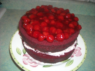Margaret's Morsels | Cherry Chocolate Cake
