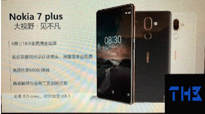 New information and pictures about the expected phone Nokia 7 plus