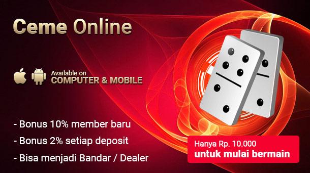 Datang Ke Agen Ceme Online Deposit 10000 Untuk Berjudi ...
