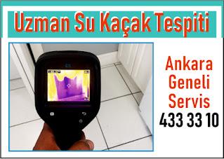 Su sızıntısı tespiti Ankara