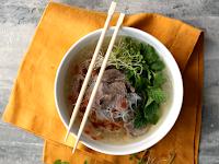 Vietnamese Beef & Rice-Noodle Soup