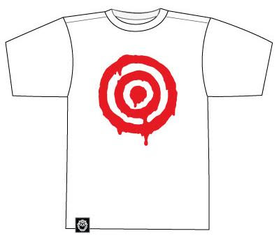 Munky King - San Diego Comic-Con 2012 Exclusive Red Target T-Shirt by Luke Chueh