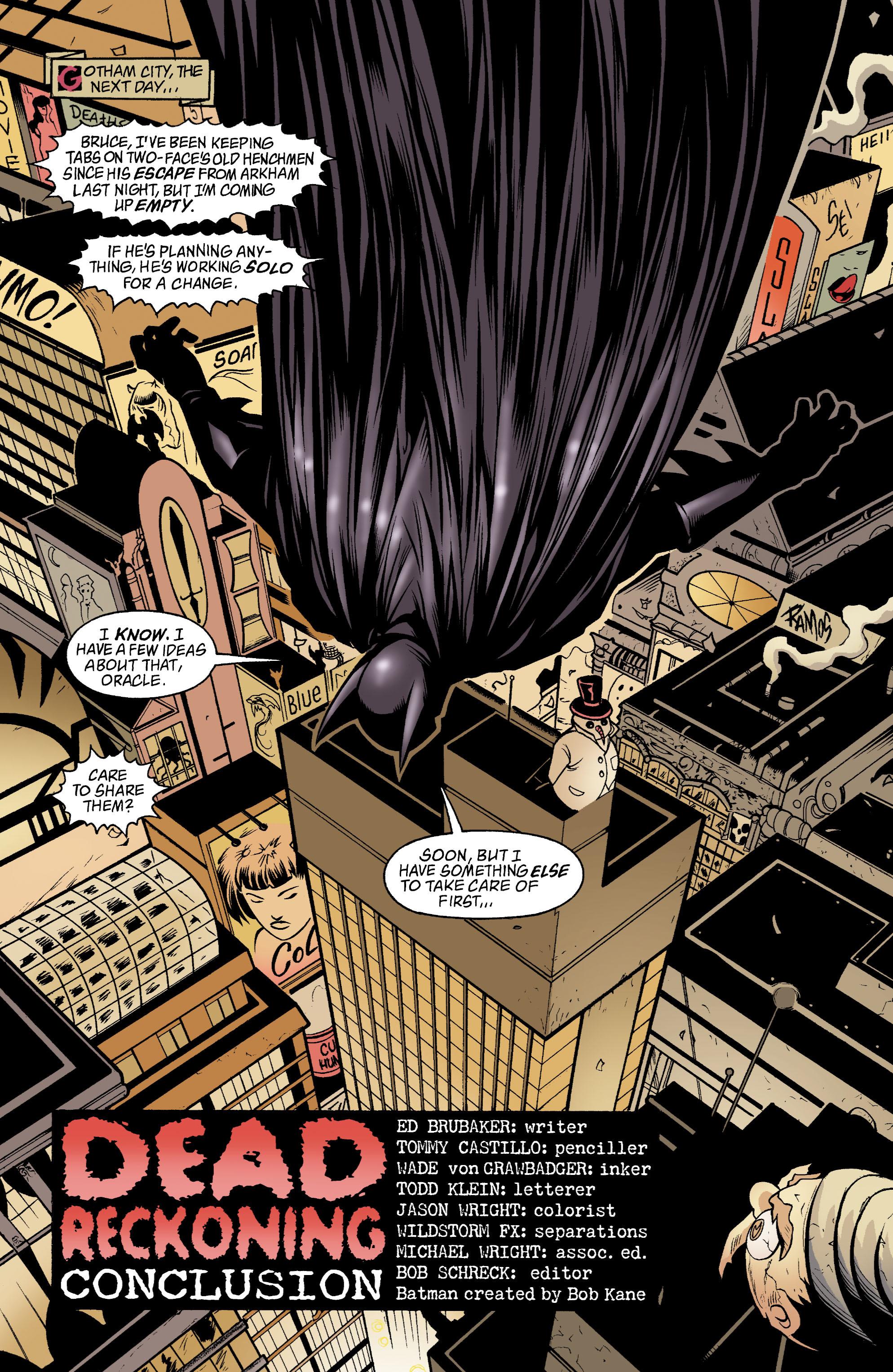 Detective Comics (1937) 782 Page 1
