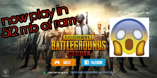 pubg lite (for low specification Mobiles now play in 512 mb