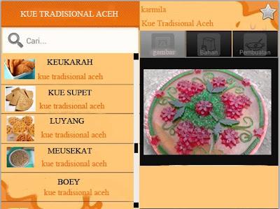 Skripsi Aplikasi Panduan Pembuatan Kue Tradisional Aceh Berbasis Android