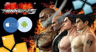 Tekken 5 ISO CSO for Android