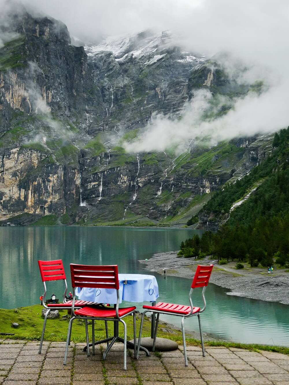 22 Stunning Hotels That Will Make You Want to Book Your Next Trip NOW! - Hotel-Restaurant Öschinensee, Switzerland
