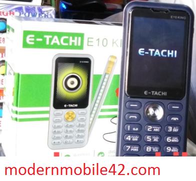 Etachi e10 king flash file