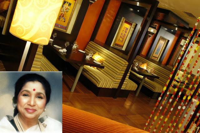Asha's Restaurant, Birmingham by Asha Bhosle