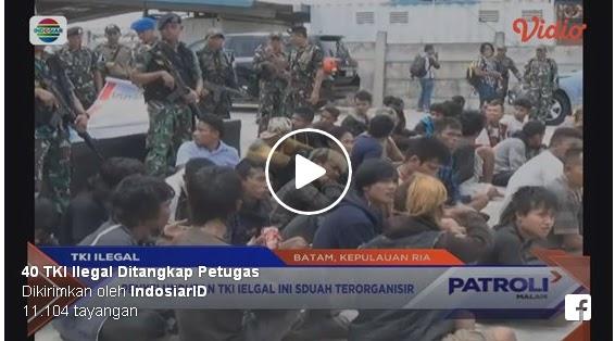 40 TKI Ilegal Ditangkap TNI AU di Batam, Berikut Beritanya