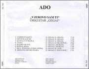 Ado Gegaj - Diskografija (1987-2015) Image1