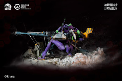 "Eva-01 de la película ""Evangelion 1.0 You Are (not) Alone"" - Infinity Studio"