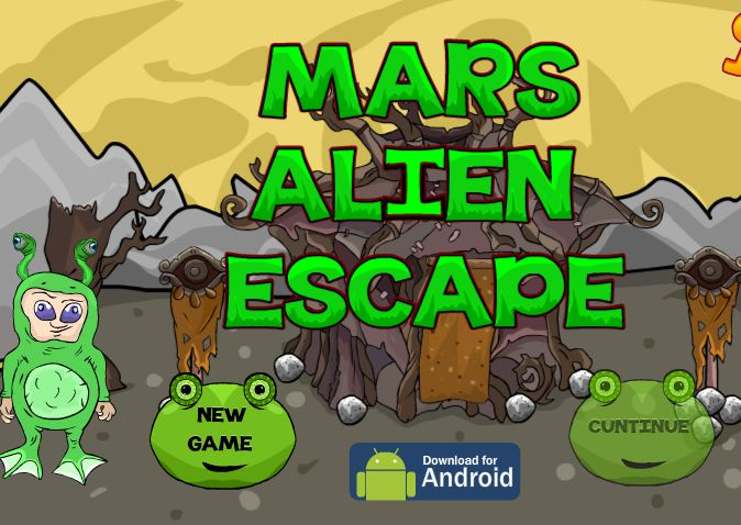 Mars Alien Escape