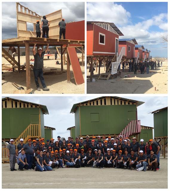 Banco Internacional construye viviendas en Manta