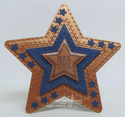 Our Daily Bread Designs Stamp Set: Superstar, Our Daily Bread Designs Custom Dies: Double Stitched Stars, Sparkling Stars