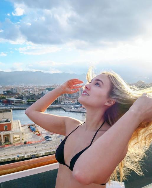 Naomi Kyle bikini
