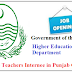 Lecturer as CTI Jobs in Punjab Colleges Higher Education