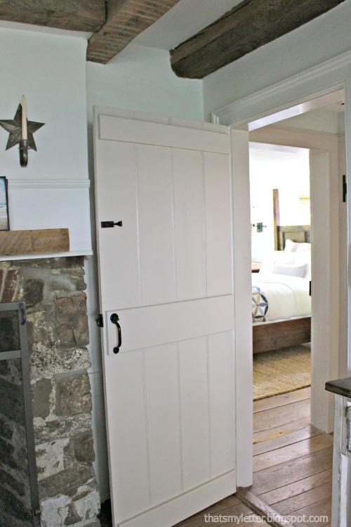 master bedroom from dining room