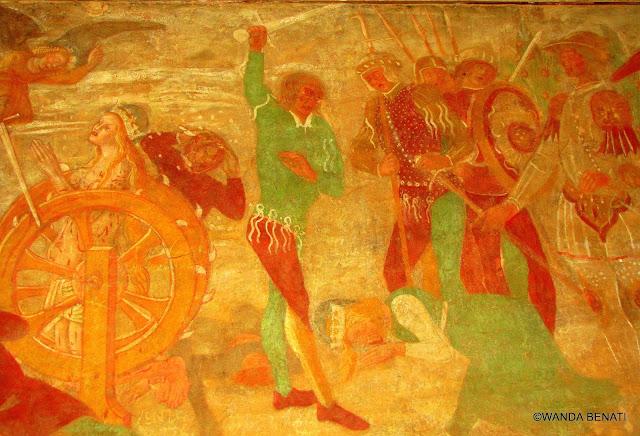 Martirio di Santa Caterina, Santuario di Montovolo