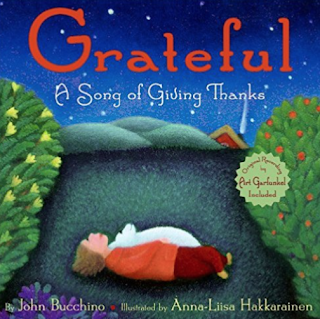 Grateful: A beautiful picture book that could work really well around Thanksgiving. Blog post includes other great activities for Thanksgiving in the music room!