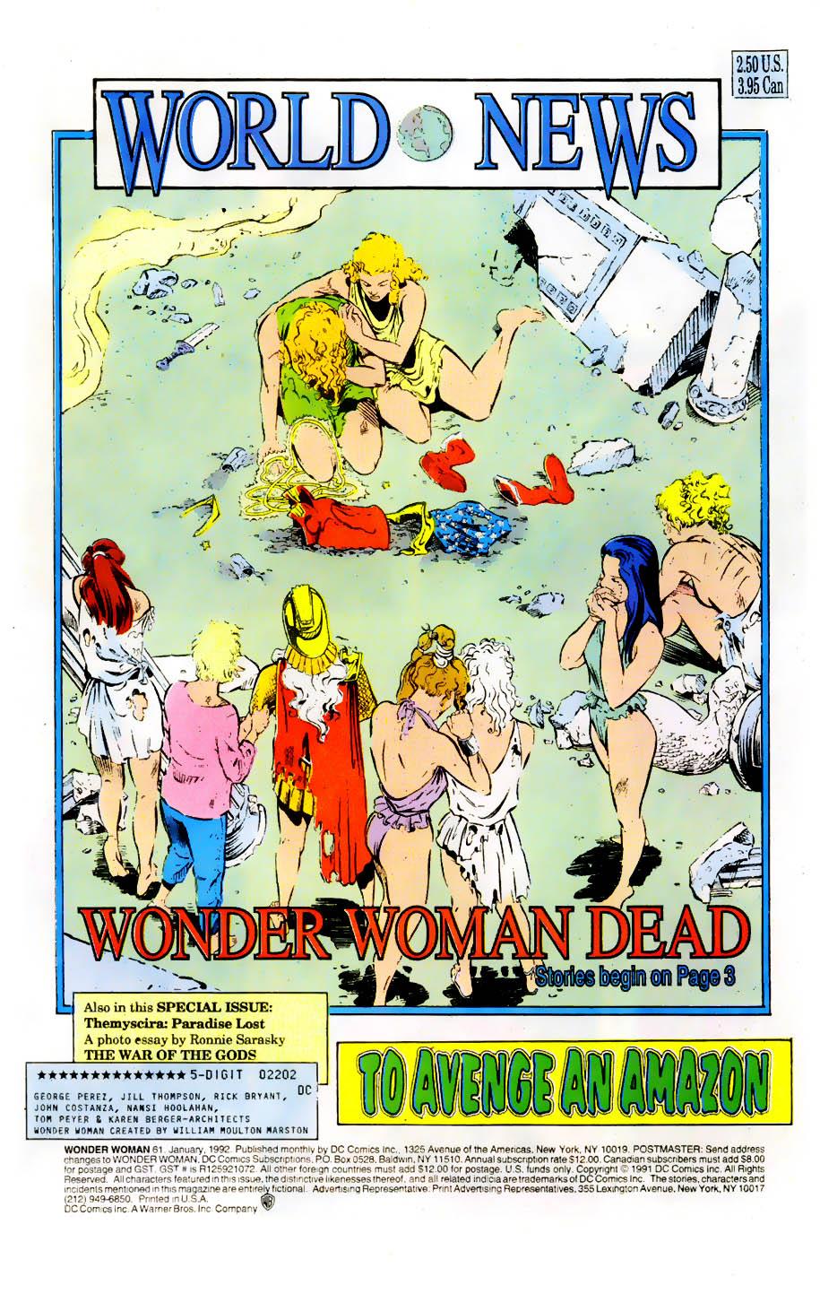 Read online Wonder Woman (1987) comic -  Issue #61 - 3