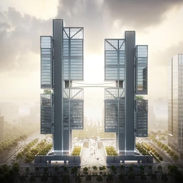 Công ty Foster and Partners công bố thiết kế trụ sở DJI tai Thẩm Quyến