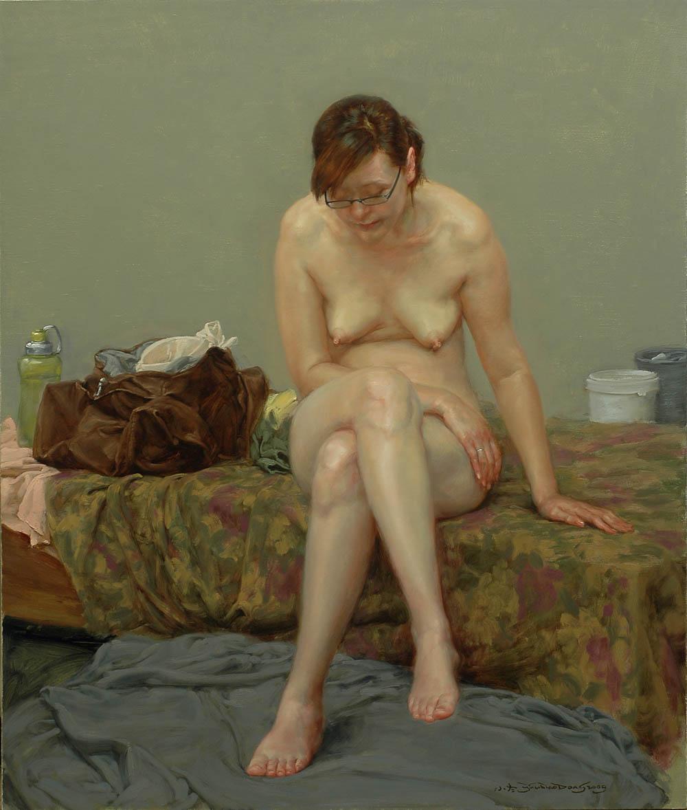 Isabel Garcia Lorca Nude artodyssey: yu xiaodong