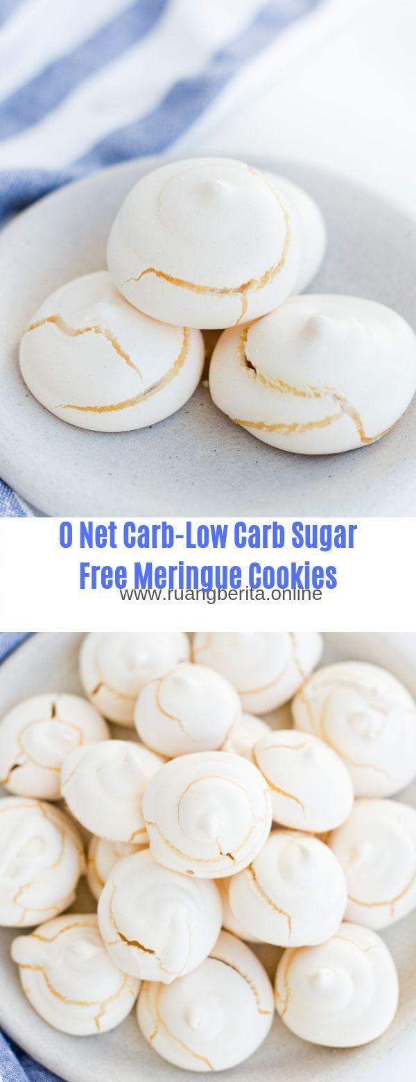 0 Net Carb-Low Carb Sugar Free Meringue Cookies