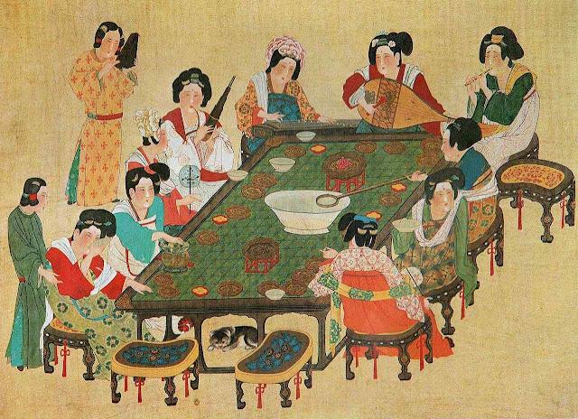 Refeição chinesa tradicional.