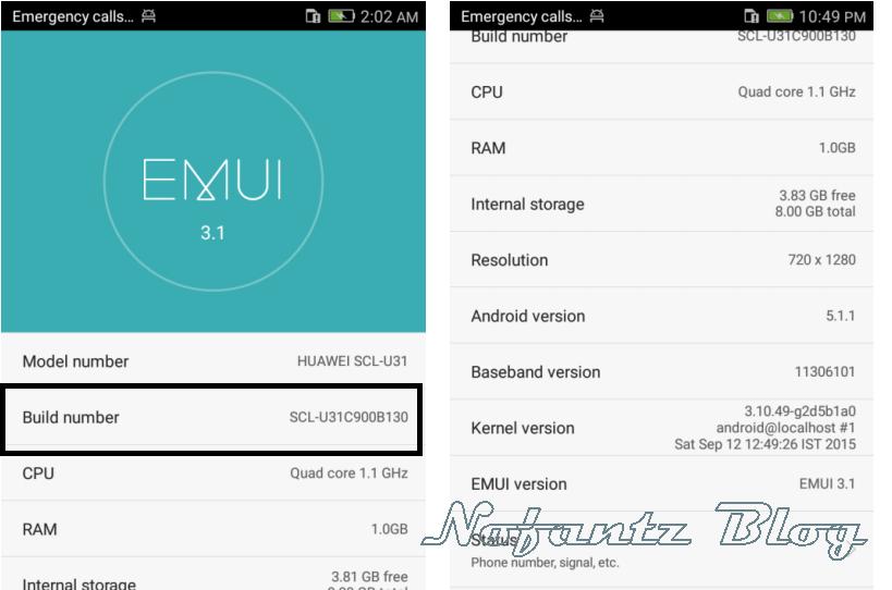 Firmware Huawei Y6 SCL-U31 Bahasa Indonesia