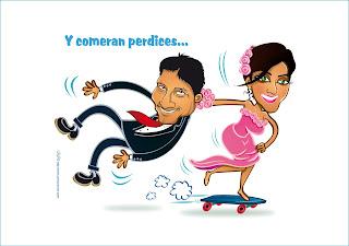 caricaturas para parejas