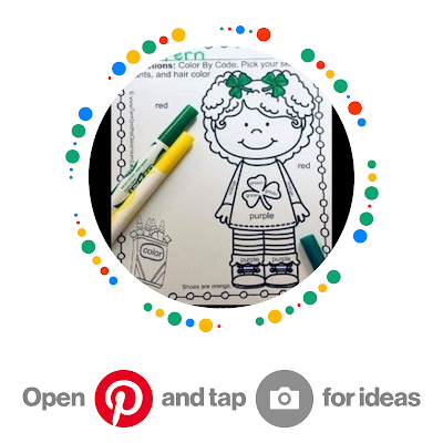 Fern Smith's Classroom Ideas St. Patrick's Day Pinterest Board, Perfect for home school families & elementary school teachers of 1st, 2nd, 3rd, 4th & 5th grade.