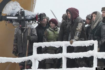 Brad Pitt in una nuova foto sul set di World War Z