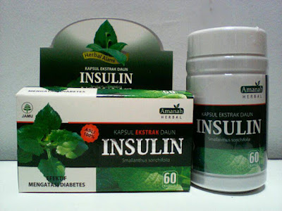 Obat Diabetes Alami Kapsul Ekstrak Daun Insulin Amanah