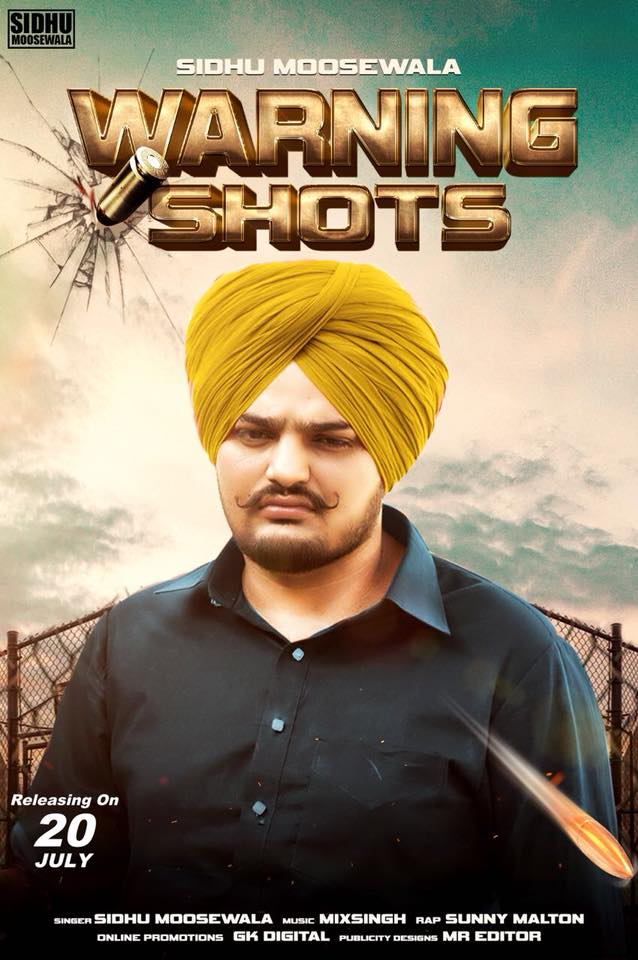Warning Shots Lyrics - Sidhu Moosewala