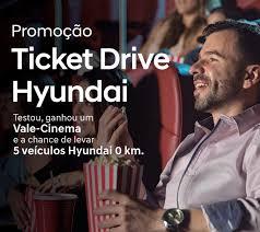 Promoção Ticket Drive Hyundai