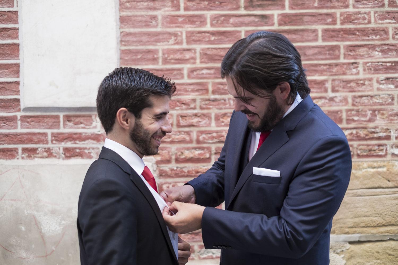 My name is Paul: Patrón del traje de novio