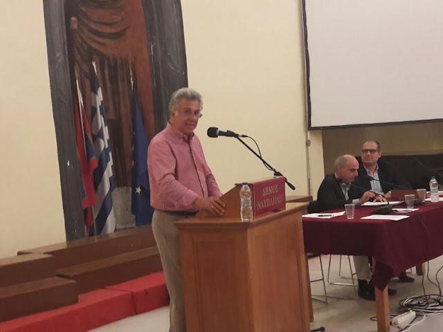 Εισήγηση Γιάννη Γεωργόπουλου για την αναθεώρηση στην Τοπική Αυτοδιοίκηση