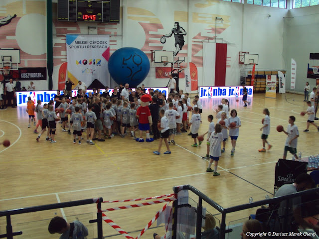 Już za chwilę młodzi zawodnicy zdobędą punkty. fot Dariusz Marek Gierej