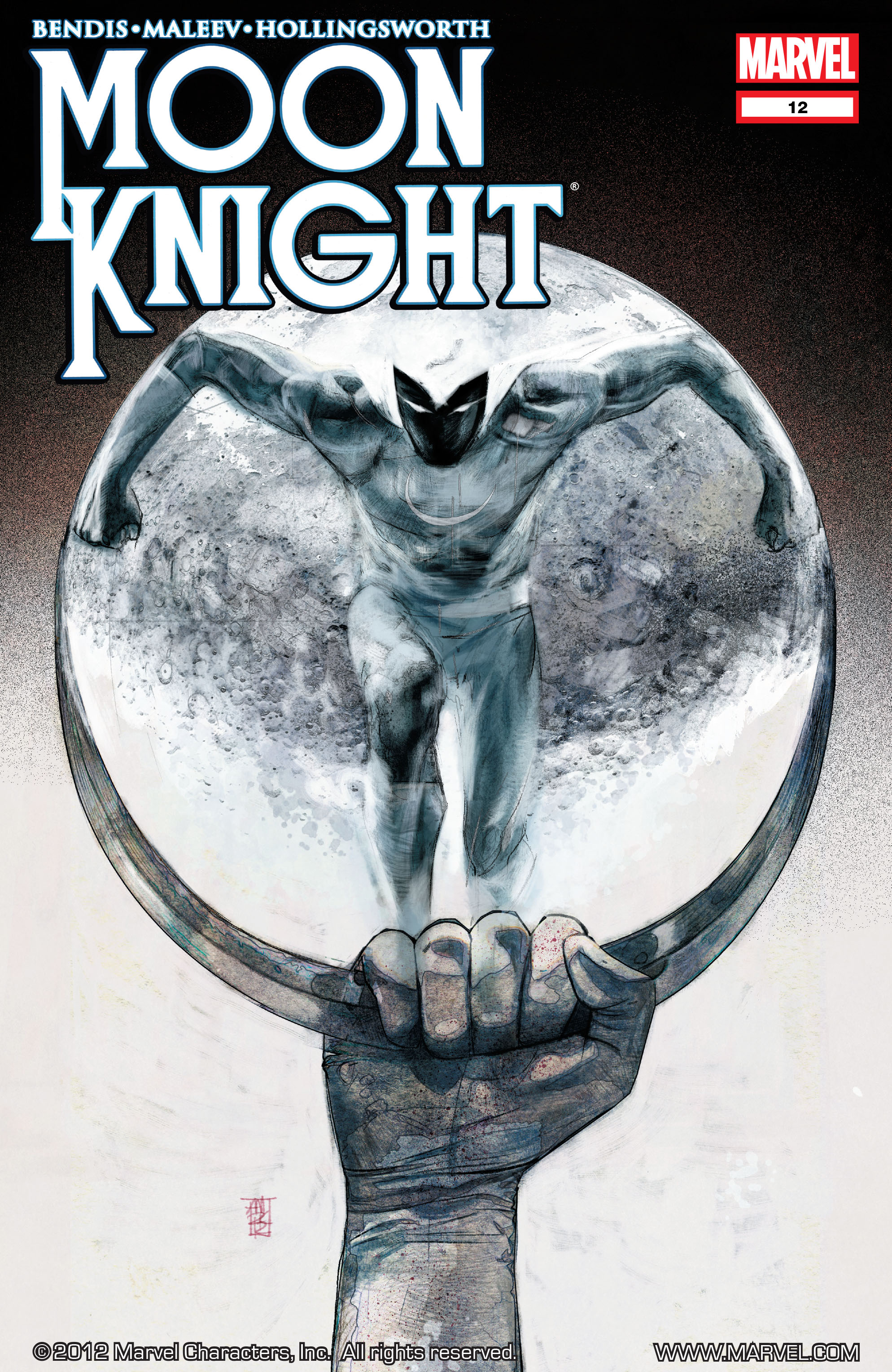 Moon Knight (2011) 12 Page 1