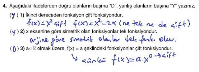 10. Sınıf Matematik Tuna Yayınları Ders Kitabı 79. Sayfa Çözümleri