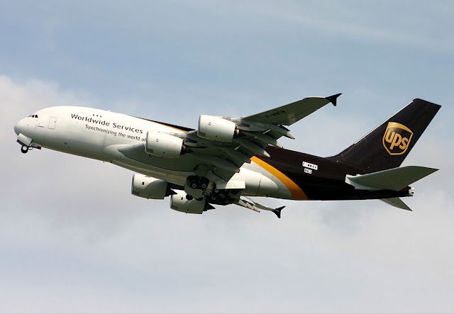 UPS Worldwide Service Airbus A380F