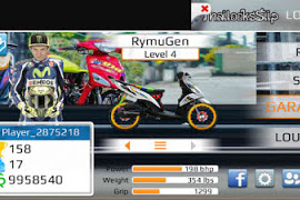 Drag Racing Bike Versi EVO 7 Indonesia