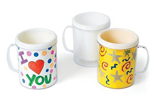 Make your own mug Mother's Day craft