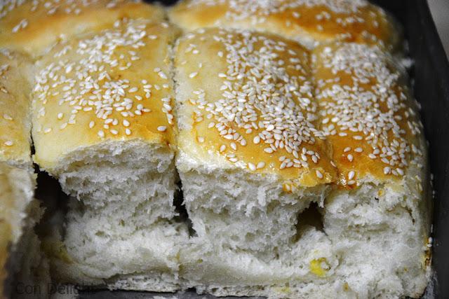 לחם תלישות pull apart bread