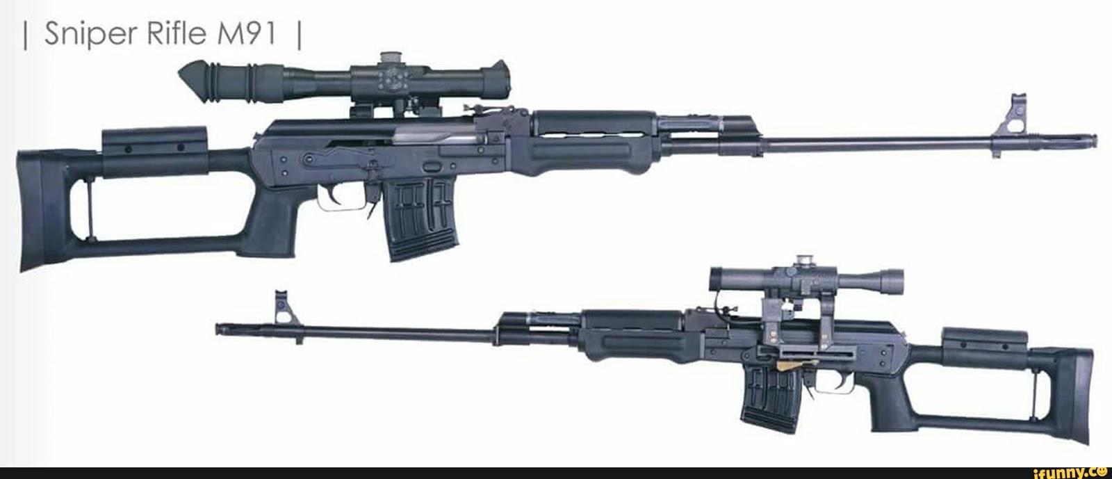 Zastava M91 sniper rifle