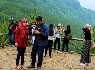 The Lodge Maribaya, Lembang spot utama foto