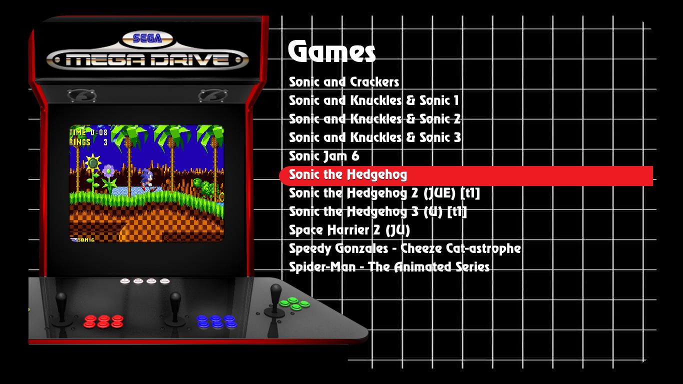 Maximus Arcade Themes