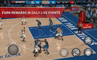 NBA Live Mobile Apk Free Shopping